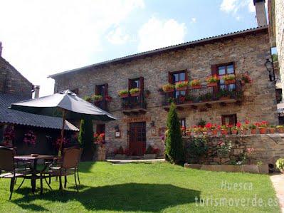 TURISMO VERDE HUESCA. Casa Puyuelo de Sarvisé